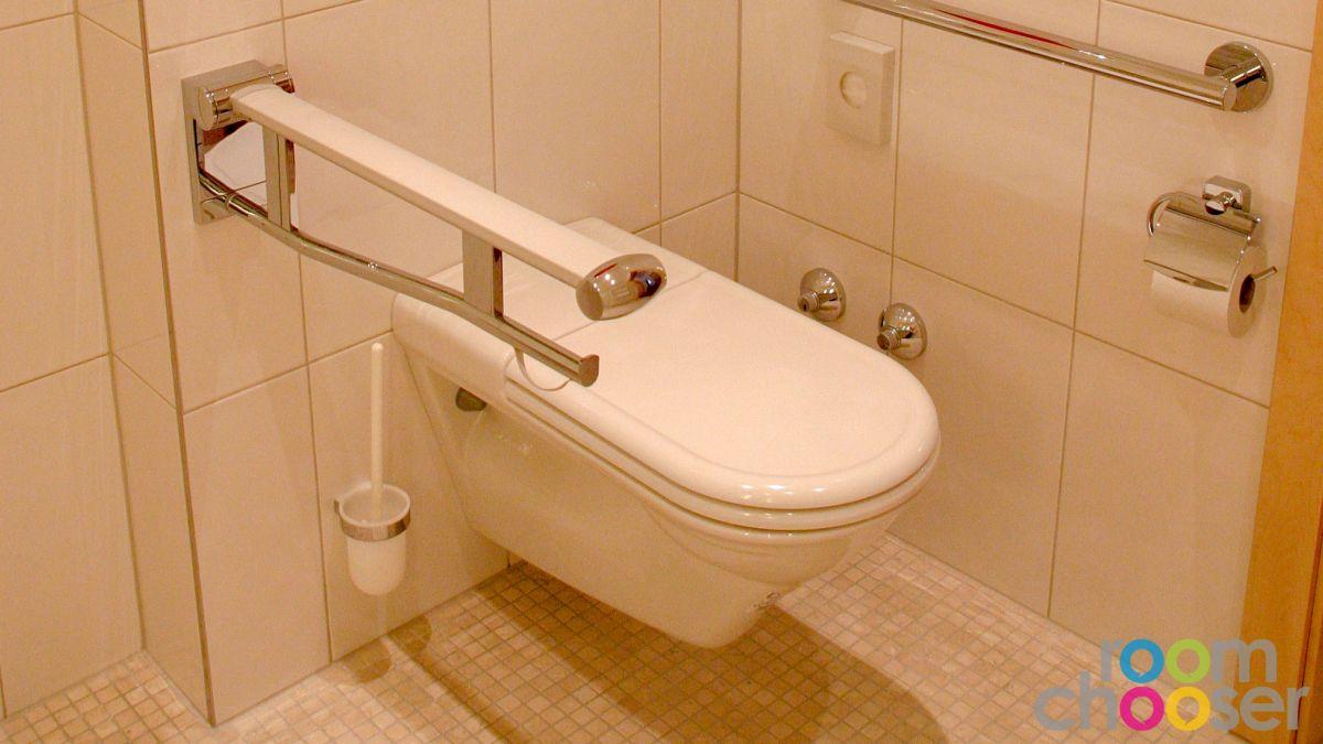 Accessible hotel room Austria Classic Hotel Heiligkreuz, 107, Toilet