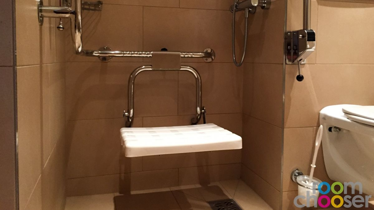 Accessible hotel room Austria Trend Hotel Ananas, 236, Shower