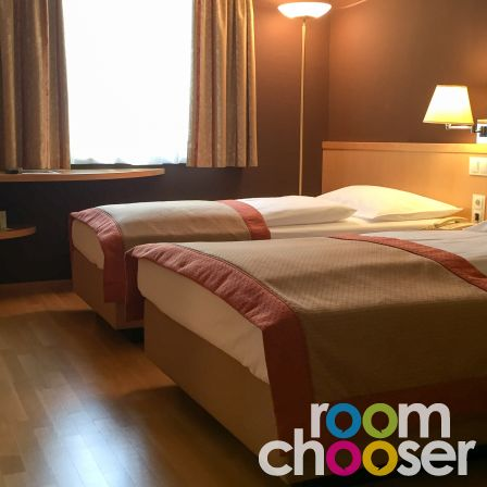 Accessible hotel room Austria Trend Hotel Ananas, 234, View into the room