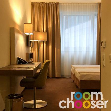 Accessible hotel room Austria Trend Hotel Doppio, 101, View into the room