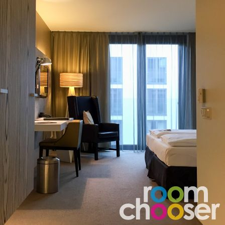 Accessible hotel room Austria Trend Hotel Park Royal Palace Vienna, 203 303 403, View into the room