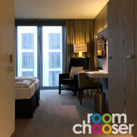 Accessible hotel room Austria Trend Hotel Park Royal Palace Vienna, 204 304 404, View into the room