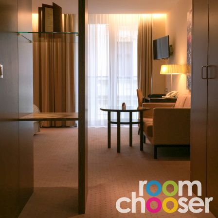 Accessible hotel room Austria Trend Hotel Savoyen, 205, View into the room
